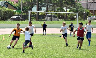 Первый фестиваль детского футбола
